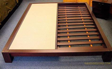 buy japanese bed frames choose finish dark