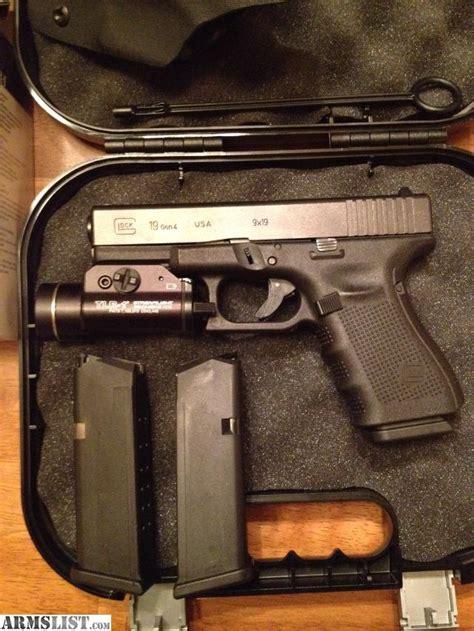glock 19 4 light armslist for sale trade glock 19 4 tac light
