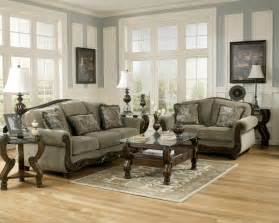 Furniture Set For Living Room Furniture Martinsburg Meadow Living Room Set Sofa Loveseat