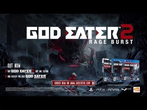 Kaset Ps4 God Eater 2 Rage Burst god eater 2 rage burst ps4
