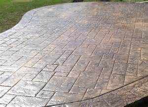 Concrete Patio Company Backyard Patio Companies Stamped Concrete Concrete