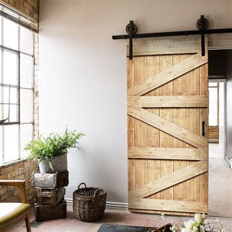 Barn Door Effect 25 Best Ideas About Wood Effect Wallpaper On