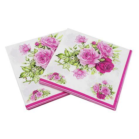 Paper Napkin Napkin Decoupage Tissu Tisu uber napkin paper napkin flower festive tissue napkins decoupage 33cm 33cm 20pcs