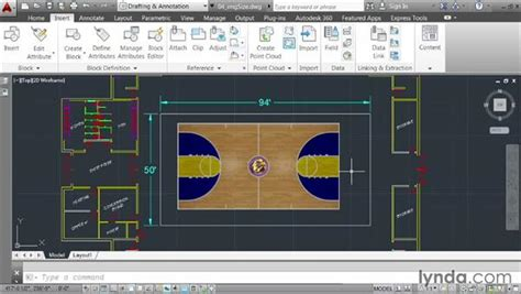 autocad tutorial scale drawing sizing images to a measurable scale