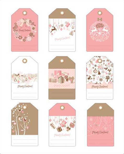 printable gift tags pink free printable christmas gift tags in pink and blue