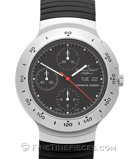 Porsche Chronograph by Iwc Porsche Design Chronograph Ref 3701 Uhren Fan De