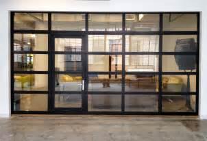 Glass Overhead Door Glasspassingdoor View Aluminum Glass Garage Door With Passing Door Garage Roll Up