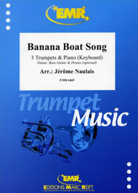 banana boat song dance banana boat song sheet music by jerome naulais sheet