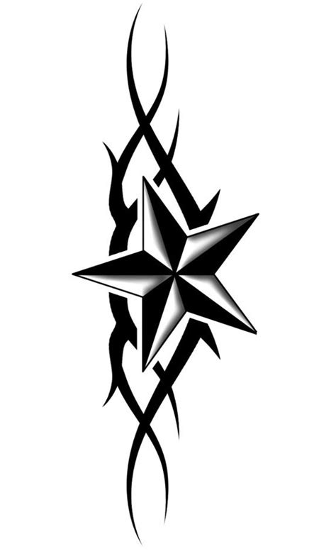 6 point star tattoo designs designs the is a canvas clipart best