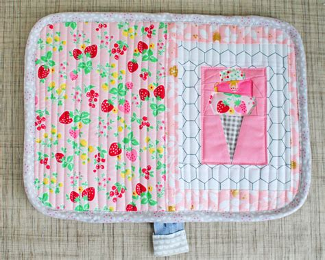 How To Bind A Quilt With Fold Bias by Clover Violet The Difference Between Single Fold And