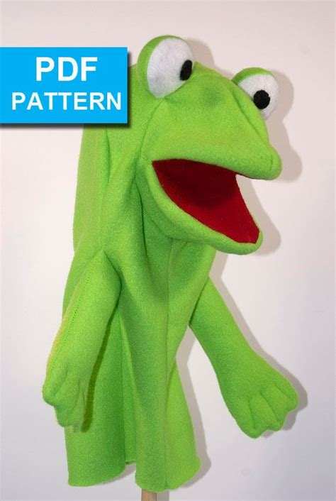 frog finger puppet template puppets puppets and frogs on