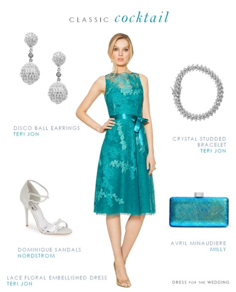 Wedding Attire Cocktail Dress by Turquoise Cocktail Dress