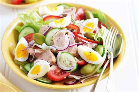 spanish salad spanish salad with tuna recipe taste au