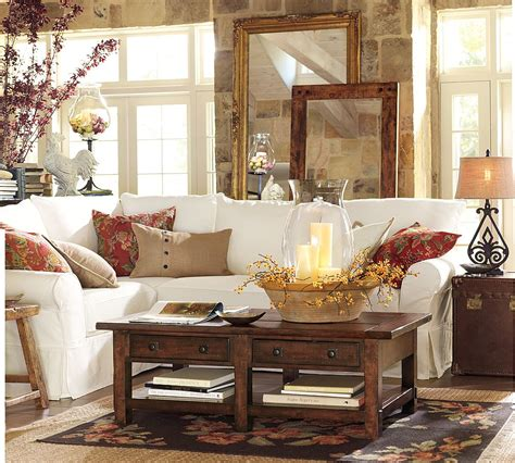 Pottery Barn Furniture by Tips For Adding Warmth To Your Fall Decor As It Gets