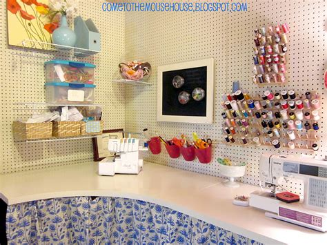 4 Your Home Craft Area For Small Spaces by The Basement Craft Room 300
