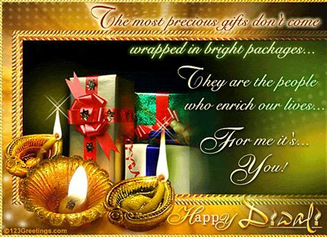 People Who Enrich Lives  Free Happy Diwali Wishes eCards