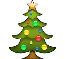 christmas tree emoji quot tree emoji quot by nojams redbubble