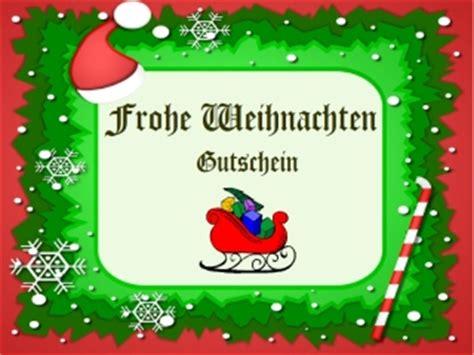 Word Vorlage Gutschein Weihnachten weihnachtsgutschein vorlage zum ausdrucken