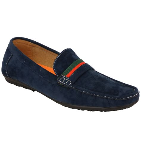 boat shoes and loafers mens moccasins suede look driving loafers slip on boat