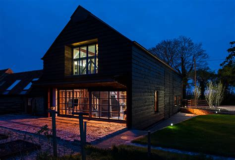 English Homes Interiors by Derelict Barn Conversion Into Modern Home