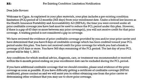 Proof Of Coverage Letter From Employer Are Pre Existing Condition Bans For Health Insurance Still With Us Health News Florida