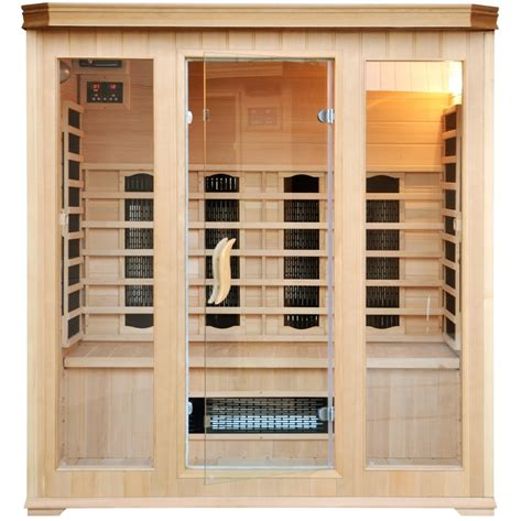cabine sauna cabine sauna luxe infrarouge 4 5 places 300