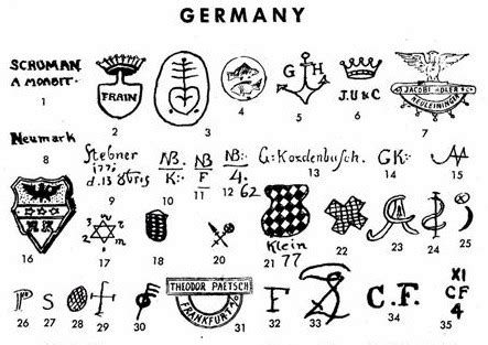 West Germany Vase Pottery Amp Porcelain Marks Germany Pg 13 Of 19