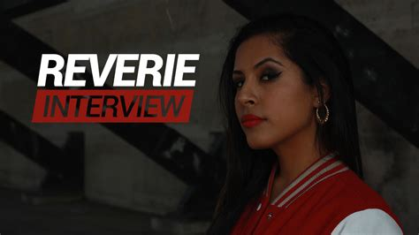 interview reverie  cool   female emcee