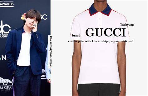 Harga Gucci V Bts taehyung bts gucci taehyung t bts gucci and