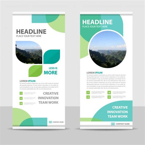product banner template roll up vectors photos and psd files free