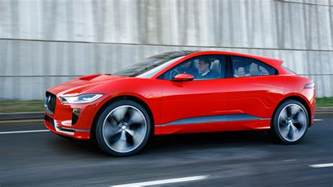 Jaguar Electric Car Price Jaguar I Pace Concept Car All Electric Suv 2017