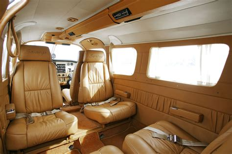 piper saratoga airplane interior helicopter services