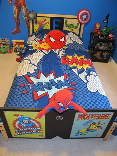 superhero toddler bed superhero bed ideas for boys room pinterest beds and