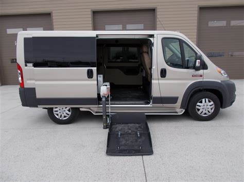 2017 Dodge Pro Master Wheelchair Van For Sale