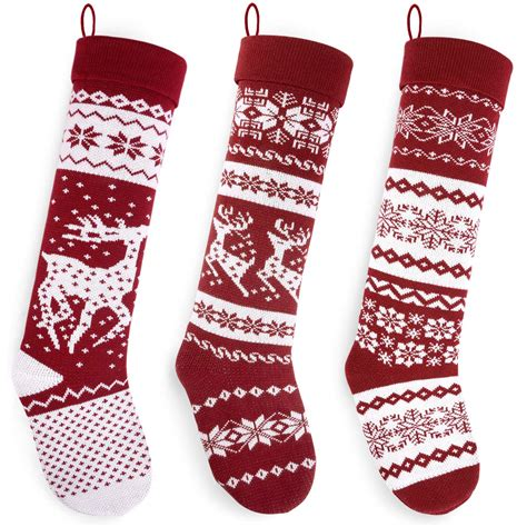 patterns  knitted christmas stockings  patterns