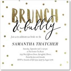 brunch invitations bubbly brunch signature white bridal shower invitations in white or black alma