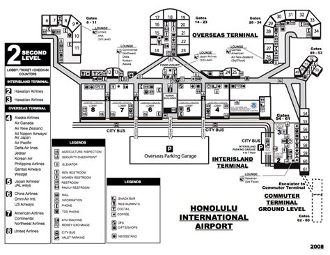 honolulu airport map airport shuttle hawaii23