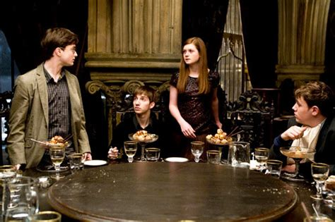 harry potter dinner new half blood prince pic exhibits harry potter at