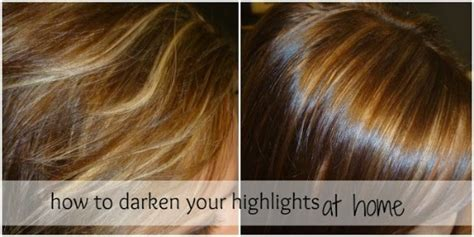 by arielle how to darken your highlights at home