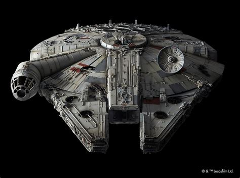 Nycc Exclusive Millennium Falcon Model Is The Starship Of