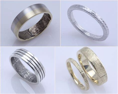 fingerprint wedding rings cloud 9