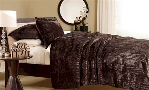 Fur Bed Comforter by Faux Fur Bedding Comforter Set Ideas Fres Hoom