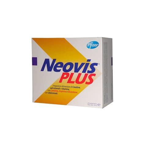carnitina y creatina neovis plus 20 bolsas creatina carnitina farmacia