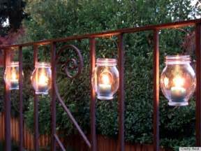 Diy Patio Lights 7 Diy Outdoor Lighting Ideas To Illuminate Your Summer Nights Photos Huffpost