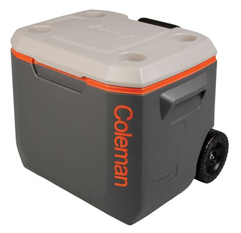 fan with ice compartment coleman cool box tri colour 50qt xtreme wheeled cooler