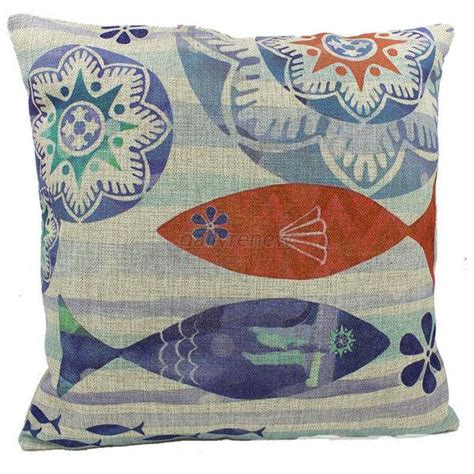 sofa cushion types 15 types blue ocean cotton throw pillow case home decor