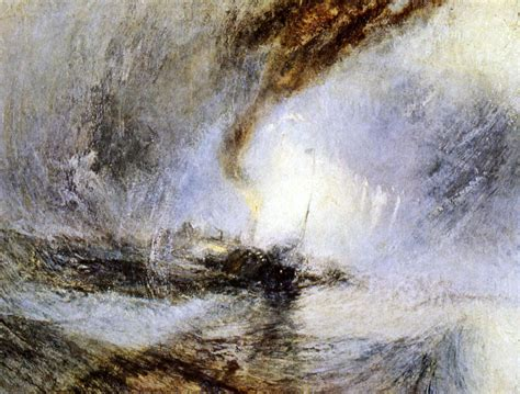 snow storm steam boat off a harbour s mouth william turner astrid daans