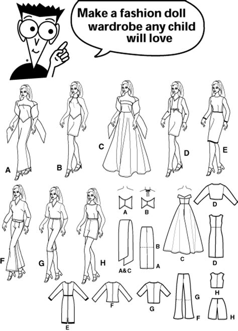 apparel pattern making pdf simplicity 7073 sewing for dummies doll clothe