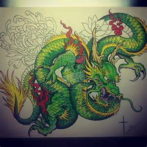 green dragon by bishop808 on deviantart