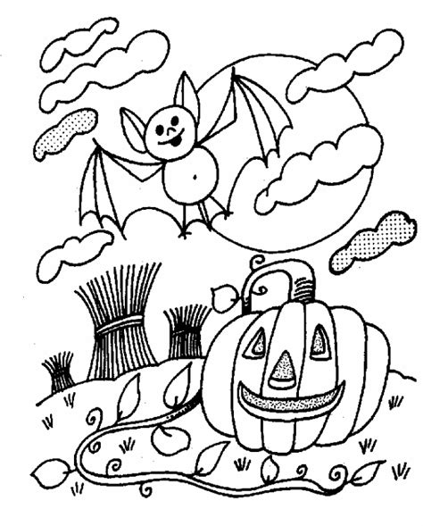 Cool Halloween Printable Coloring Pages | free printable halloween coloring pages for kids